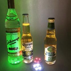 Sticker led pour bouteille