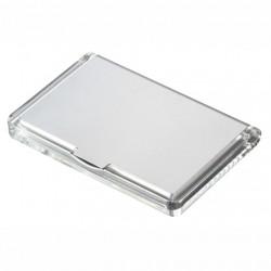 Porte carte aluminium