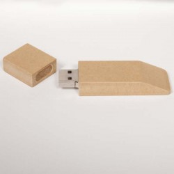 Cle usb papier recycle