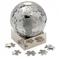 Globe puzzle magnetique