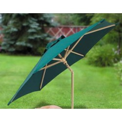 Parasol jardin inclinable