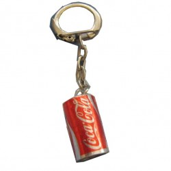 Porte clé led forme canette