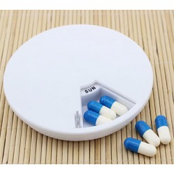 Boite à pilule avec jour