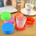 Gobelet pliable en plastique