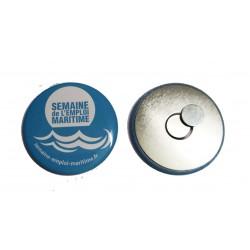 Badge magnetique